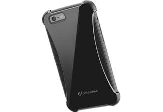 CELLULAR LINE 35399, Apple, Backcover, iPhone 6, iPhone 6s, Polycarbonat, Schwarz