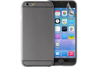 PURO PU-111761 Ultra Slim 0.3, Apple, Backcover, iPhone 6, Polycarbonat, Schwarz