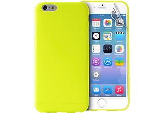 PURO PU-113420 Ultra Slim 0.3, Apple, Backcover, iPhone 6, Polycarbonat, Limegrün