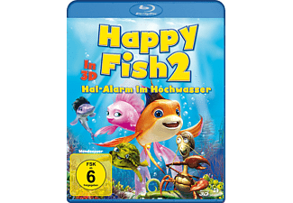 Happy Fish 2 - Hai-Alarm im Hochwasser - (3D Blu-ray)