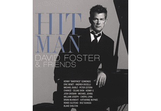 David Foster, VARIOUS - HIT MAN - DAVID FOSTER & FRIENDS - (Blu-ray)