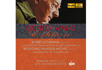 Günter Wand, Gerhard Oppitz, NDR Sinfonieorchester - Concerto For Piano And Orchestra A Minor Op. 54 - (CD)
