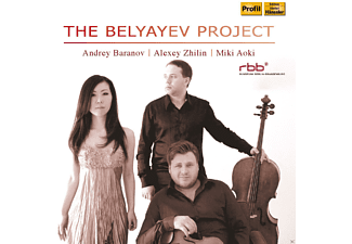 Miki Aoki, Andrey Baranov, Alexey Zhilin - The Belyayev Project - (CD)