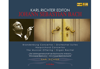 VARIOUS, Münchener Bach-Orchester, Karl Richter Kammerorchester - Karl Richter Edition - Johann Sebastian Bach - (CD)