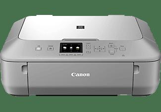 CANON PIXMA MG5655, 3-in-1 Tinten-Multifunktionsgerät, Silber-Grau