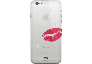 WHITE DIAMONDS Lipstick Kiss Backcover Apple iPhone 6, iPhone 6s Kunststoff Rot