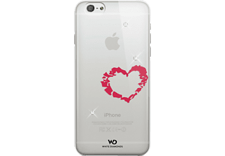 WHITE DIAMONDS Lipstick Heart, Backcover, iPhone 6, iPhone 6s, Rot