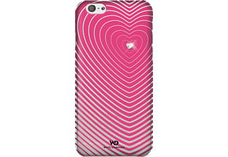 WHITE DIAMONDS Heartbeat Backcover Apple iPhone 6, iPhone 6s Kunstleder Pink