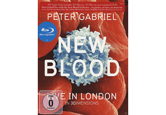 The New Blood Orchestra - New Blood Live In London - 3D Blu-Ray [Blu-ray]