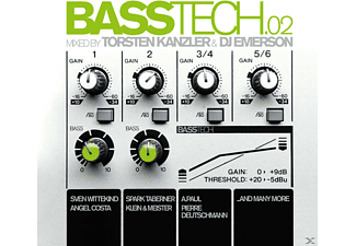 VARIOUS - Basstech Vol.2-Mixed By Torsten Kanzler & Dj Em [CD]