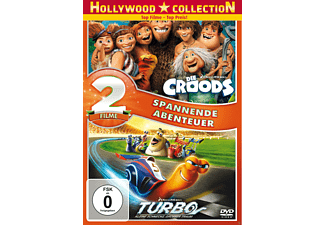 Die Croods & Turbo [DVD]