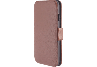 TELILEO 3309, Apple, Bookcover, iPhone 6, Polycarbonat/Polyurethan, West-Cognac