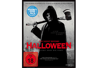 The Night Before Halloween (Uncut) - (Blu-ray)