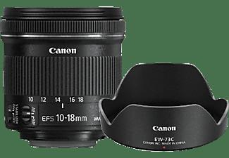 CANON 9519B009AA 10 mm-18 mm Objektiv f/4.5-5.6, System: EOS Kameras, Bildstabilisator, Schwarz