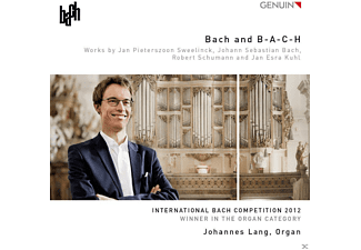 Johannes Lang - Bach And B-A-C-H - (CD)