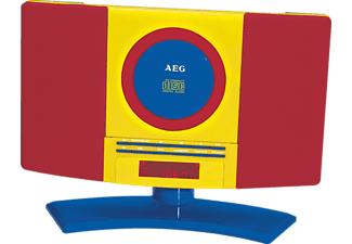 AEG. MC 4464 Musik-Center (Rot/Gelb/Blau)