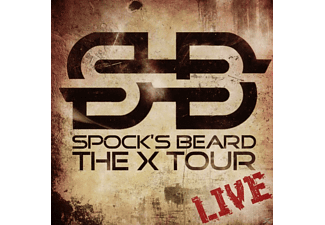 Spock's Beard - The X Tour - Live - (CD)