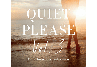 VARIOUS - Quiet Please Vol.3 - (CD)