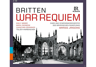 Edward Benjamin Britten - War Requiem - (CD)
