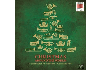 German Brass - Christmas Around The World - (CD)