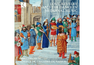 Choeur De Chambre De Rouen - Love, Revelry And The Dance In Mediaeval Music - (CD)