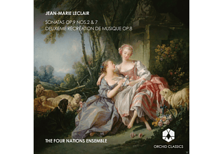 Four Nations Ensemble - Sonatas Op.9 Nos.2 &7 / Deuxieme recreation de musique Op.8 - (CD)