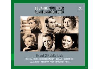 VARIOUS - Great Singers Live - (CD)