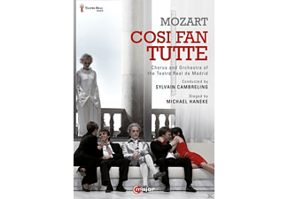 Anette Fritsch, Juan Francisco Gatell, Paola Gardina, Chorus And Orchestra Of The Teatro Real - Così Fan Tutte (Madrid 2013) - (DVD)