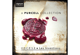 Les Inventions, Voces 8 - A Purcell Collection - (CD)