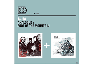 A-Ha - 2FOR1 - ANALOGUE/FOOT OF THE MOUNTAIN - (CD)