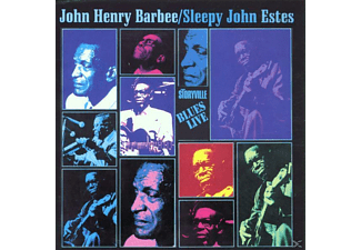 John Henry & Sleepy John Es Barbee - Blues Live - (CD)