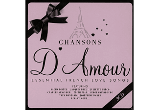 VARIOUS - Chansons D'amour (Limited Metalbox Edition) - (CD)