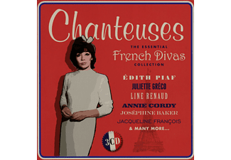 VARIOUS - Chanteuses - The Essential French Divas Collection (Limited Metalbox Edition) - (CD)