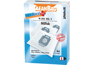 CLEANBAG M201NIL3 MicroFleece+ Nilfisk King