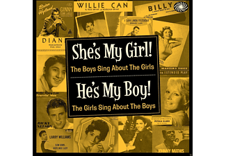VARIOUS - She's My Girl! He's My Boy [CD]
