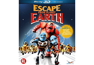 Escape From Planet Earth 3D | 3D Blu-ray