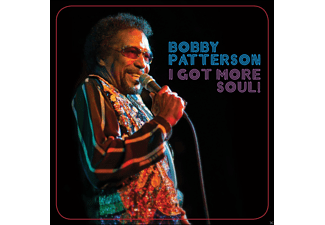 Bobby Patterson - I Got More Soul! [CD]