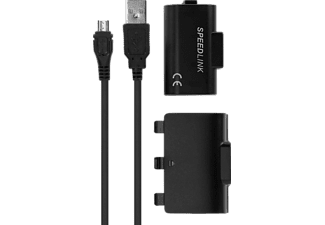 Pulse play & charge power kit black Xbox One (Speedlink)