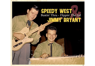 Speedy West, Jimmy Bryant - Bustin' Thru-Flippin' The Lid - (CD)