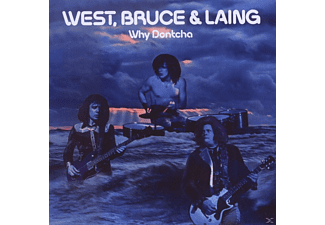 Bruce & Laing West - Why Dontcha - (CD)