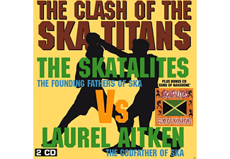 Laurel Aitken, The Skatalites - The Clash Of The Ska Titans (2cd Edition) - (CD)