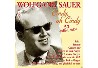 Wolfgang Sauer - Cindy, Oh Cindy - 50 Große Erfolge - (CD)