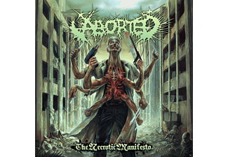 Aborted - The Necrotic Manifesto [CD]
