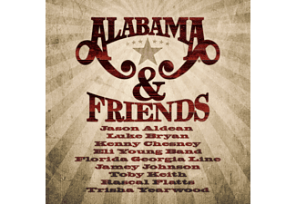 Alabama - Alabama & Friends - (CD)