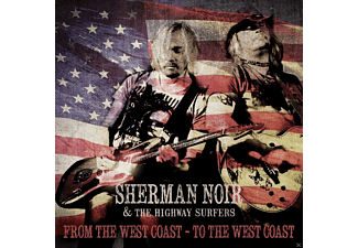Sherman & The Highway Surfers Noir - From The Westcoast-To The Westcoa - (CD)