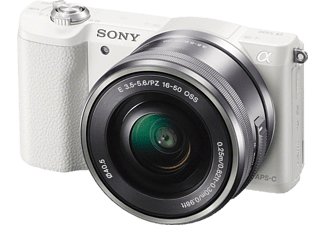 SONY Alpha A5100L + 16-50mm Wit