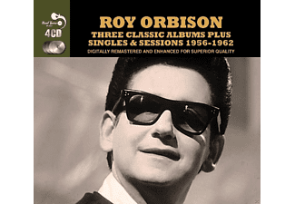 Roy Orbison - Three Classic Albums Plus Singles & Sessions (1956-1962) - (CD)