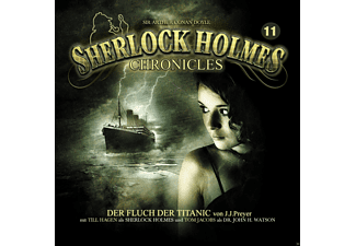 Sherlock Holmes Chronicles 11: der Fluch Der Titanic - 2 CD - Krimi/Thriller