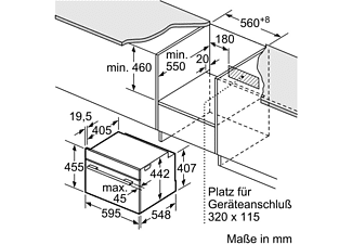 siemens backofen cm636gns1 einbauger t media markt. Black Bedroom Furniture Sets. Home Design Ideas