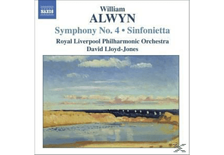 Lloyd-jones & Rlpo, David/rlpo Lloyd-jones - Sinfonie 4/Sinfonietta - (CD)